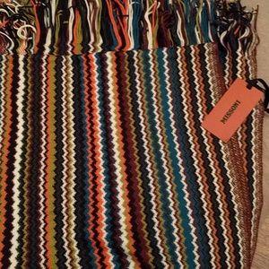 **LAST 1** Missoni knit chevron scarf